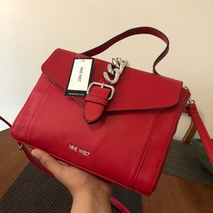 🆕 Nine West Red Purse ❤️